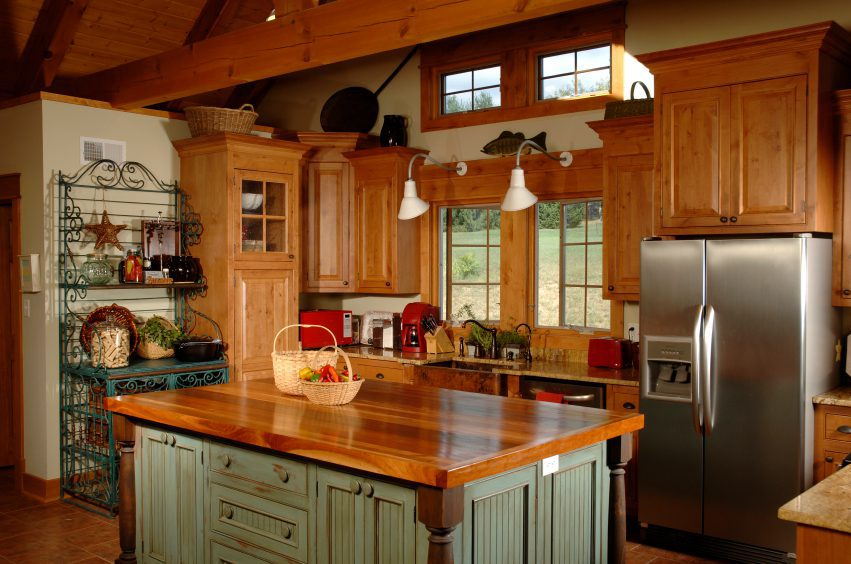 Modern Country Style Kitchen Cabinets Pictures Gallery And Country Both Are Casual Kitchen StylesSelect Kitchen And Bath